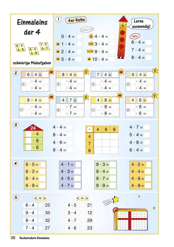 Matheaufgaben Klasse 2  die besten Arbeitsblätter von