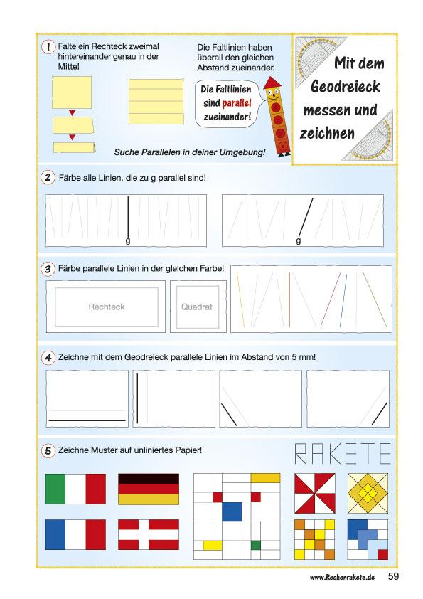 Beste Parallele Linien Und Winkel Arbeitsblatt Ideen - Mathe ...